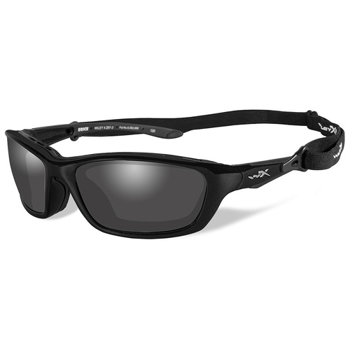 Wiley X Brick 857 Gloss Black Frame / Polarized Grey Lens
