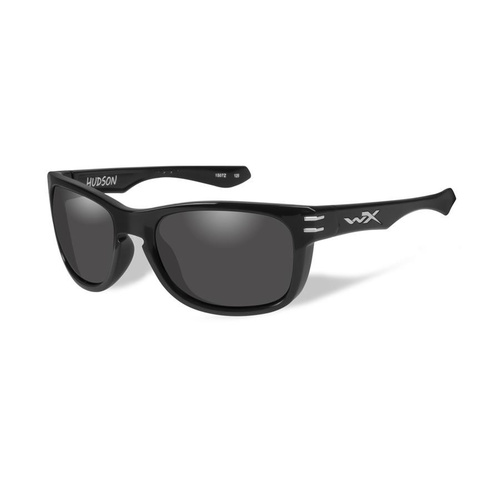 Wiley X Hudson Grey Lens / Gloss Black Frame