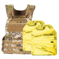 5.11 GE07 TacTec Plate Carrier [Terrain] & 2 X 1.7kg Rubber Training Plate