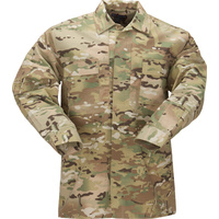 5.11 RipStop TDU Shirt Long Sleeve - MultiCam