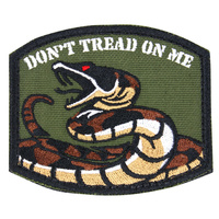 Condor Don't Tread On Me Morale Patch (Pack of 6)