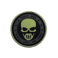 5ive Star Gear - Glow - Don't Run Ghost Morale Patch
